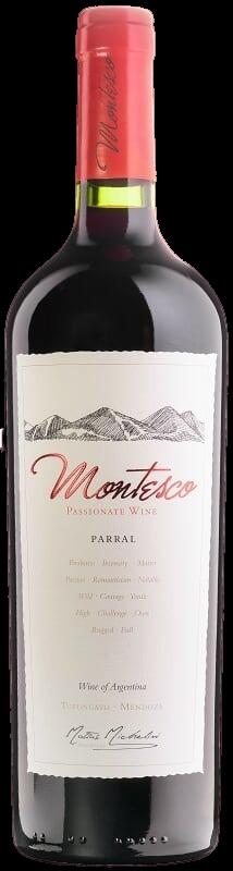 Vino Tinto Montesco parral blend x750cc
