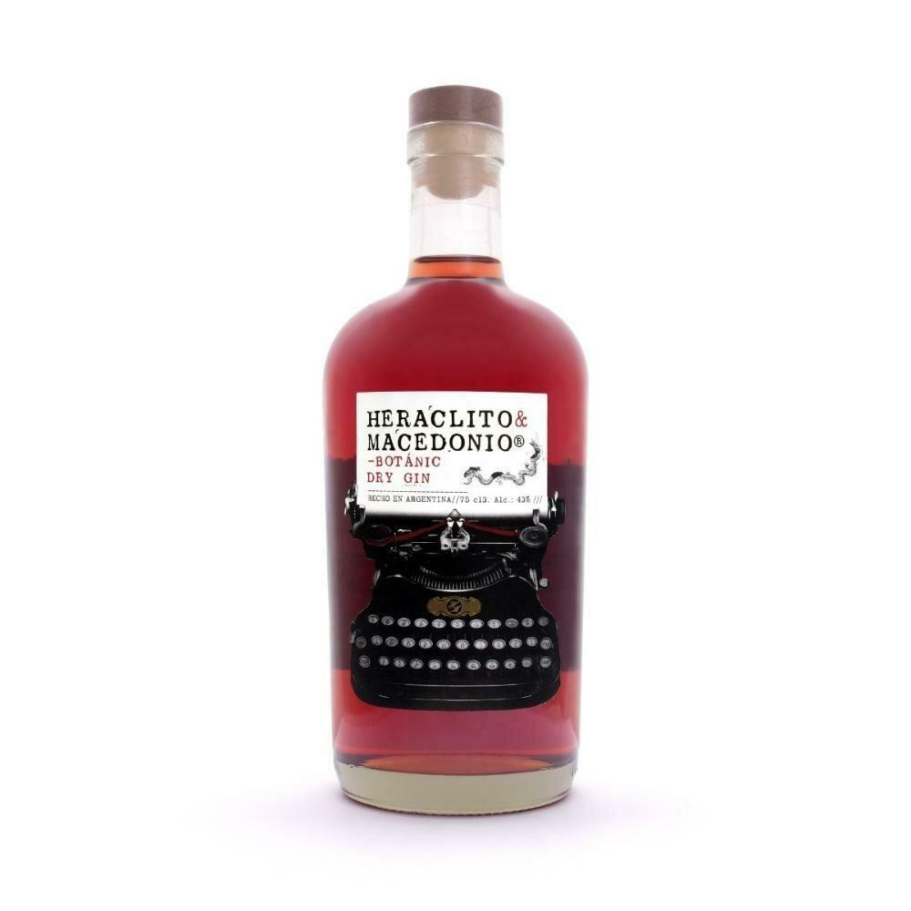 Gin Heraclito & Macedonio x750cc