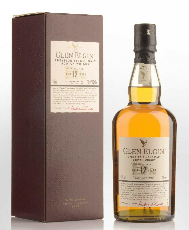 Whisky Glen elgin 12 a x750cc