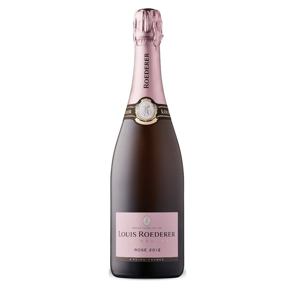 Champagne Louis roederer brut rose 2012 x750cc