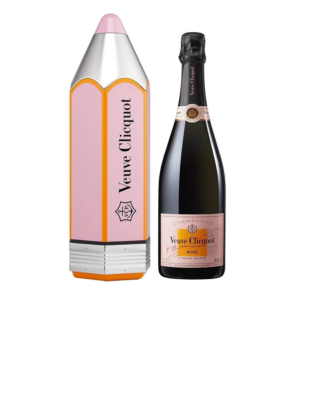 Champagne Veuve clicquot lapiz rose x750cc