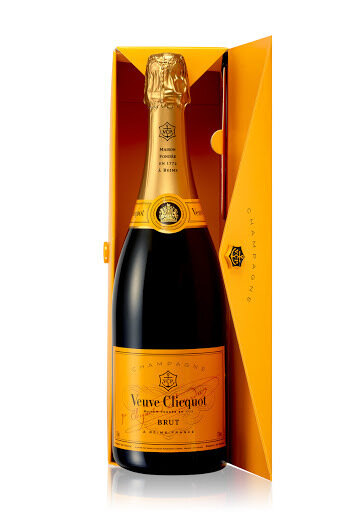 Champagne Veuve clicquot mail enveloppe brut x750cc