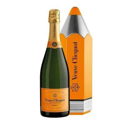 Champagne Veuve clicquot lapiz brut x750cc