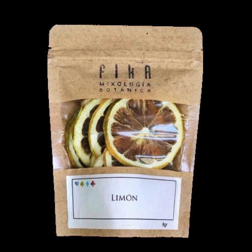 Botanicos Fika sobre rodajas limon