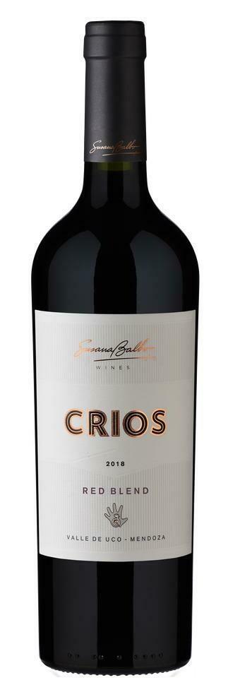 Vino Tinto Crios red blend x750cc