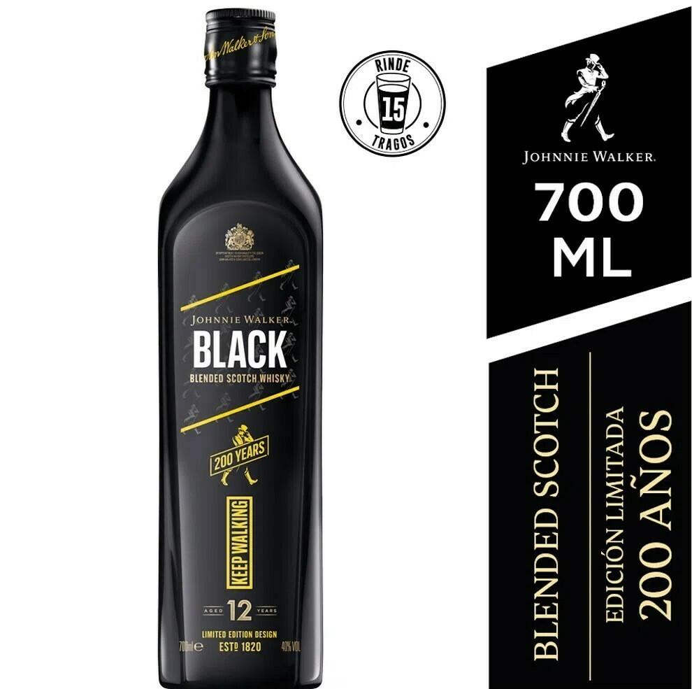 Whisky Johnnie Walker Black Icon x750 ml