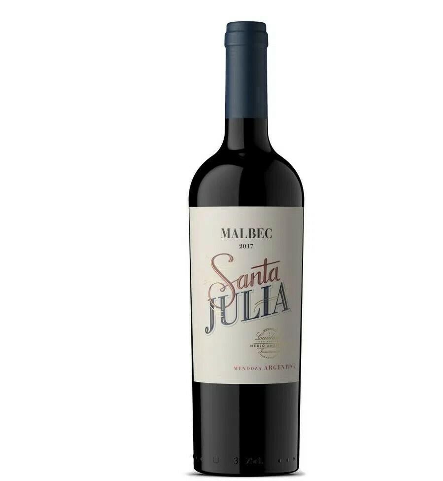 Vino Tinto Santa Julia Malbec  x750cc