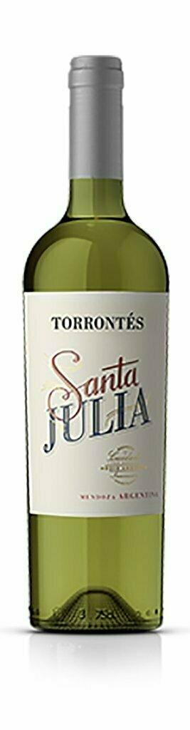Vino Blanco Santa julia torrontes x750cc
