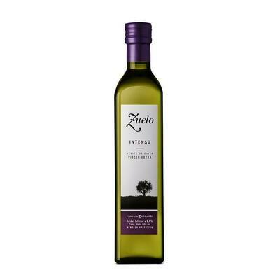 Aceite de oliva Zuelo Temprana Intenso x500cc
