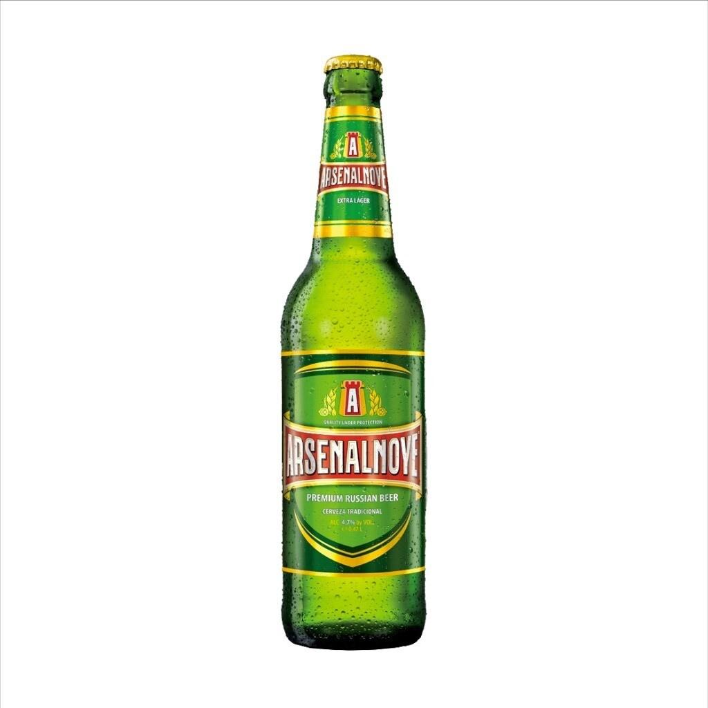 Cerveza Arsenalnoye Tradicional 473cc