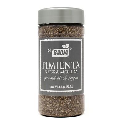 Badia pimienta negra molida x99,20grs