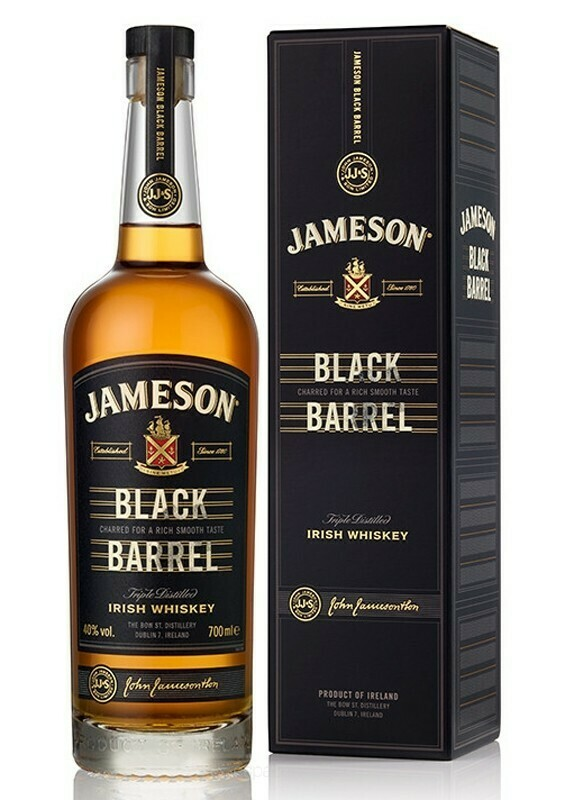 Whisky Jameson Black Barrel x750cc