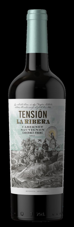 Vino Tinto Tension La Ribera Cabernet sauvignon-Cabernet Franc x750cc