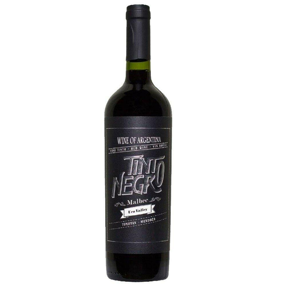 Vino Tinto Negro Uco Valley Malbec  x750cc
