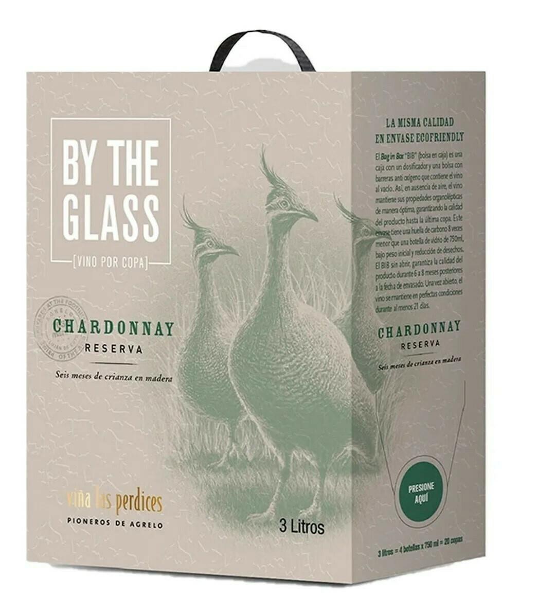 Vino Blanco Las perdices Bag in Box Chardonnay x3000cc