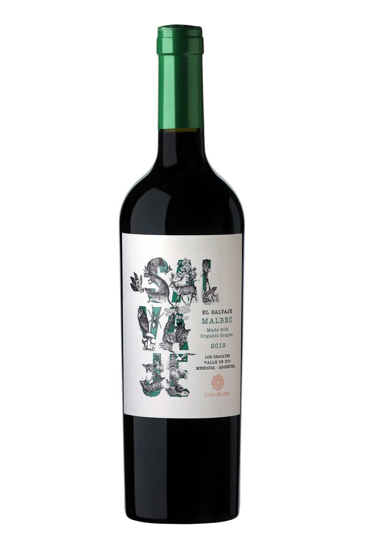 Vino Tinto El Salvaje Organico Malbec 2020 x750