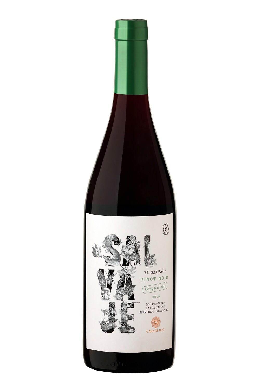 Vino Tinto El Salvaje Organico Pinot Noir 2020 x750