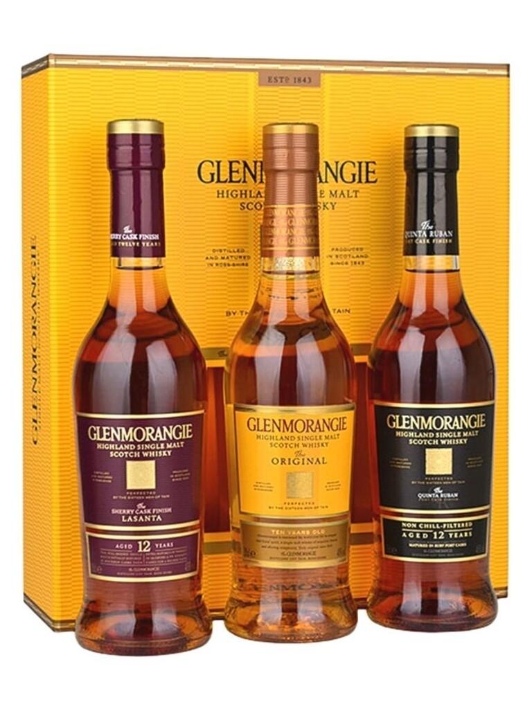 Whisky Glenmorangie tri-pack (og/ls/qr) x350cc
