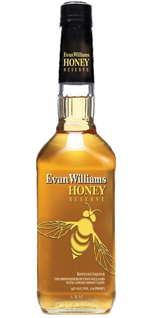 Whisky Evan williams honey rve. x750cc