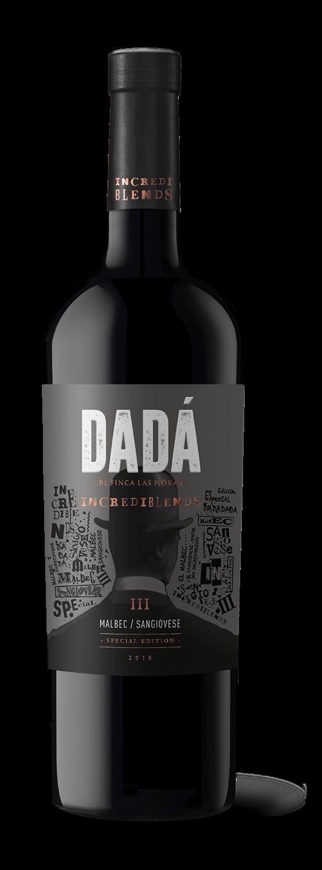 Vino Tinto Dada incrediblend malbec-sangiovese x750cc