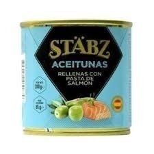 Aceitunas rell salmon stabz x200grs