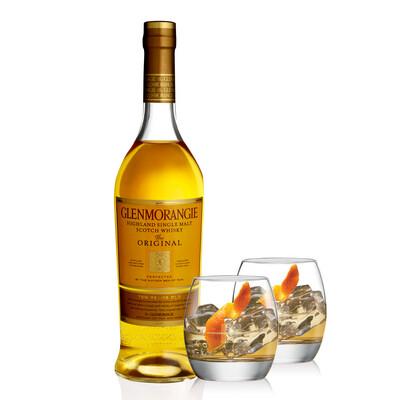 Whisky Glenmorangie 10 A + 2 vasos Glenmorangie