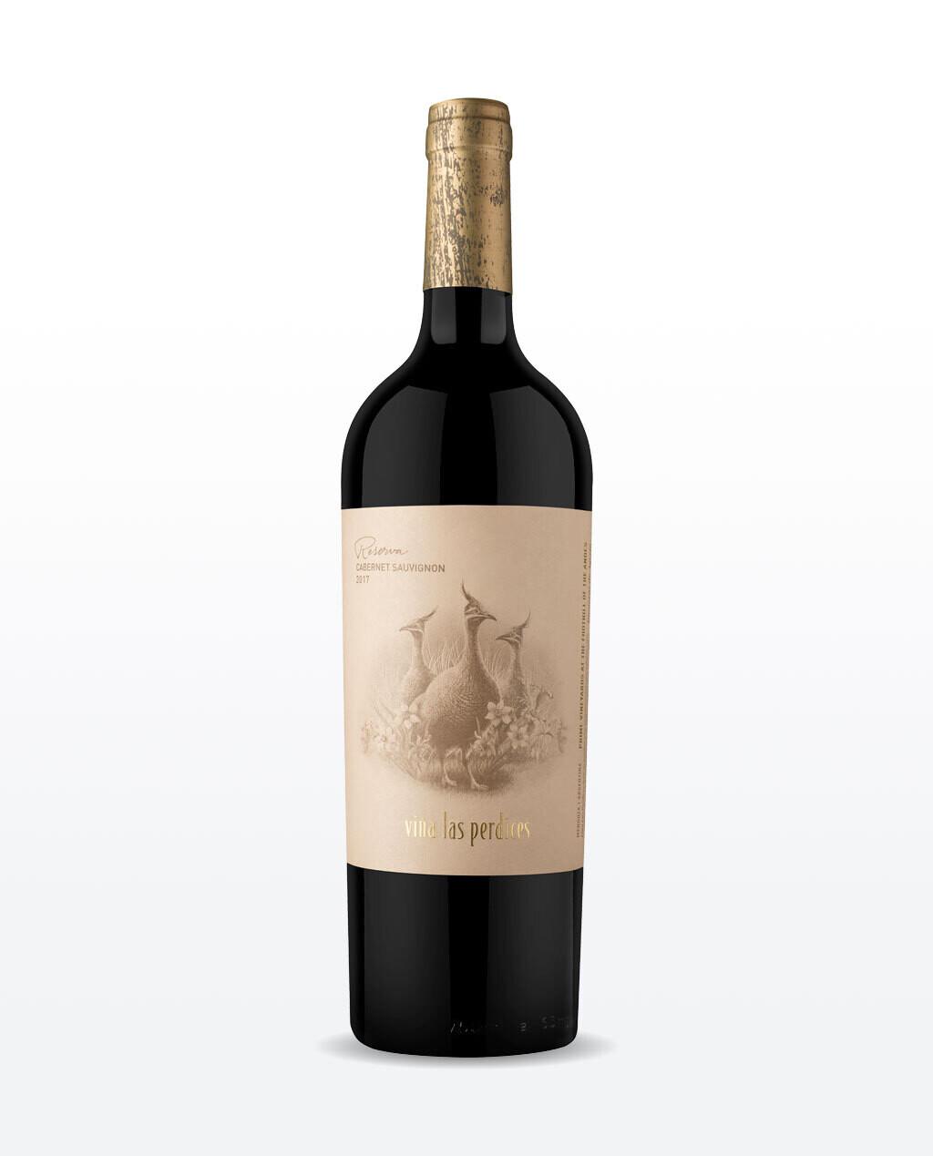 Vino Tinto Las perdices reserva cabernet sauvignon x750cc