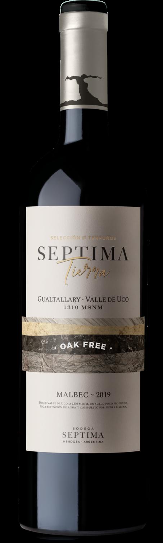 Vino Septima tierra oak free malbec x750cc