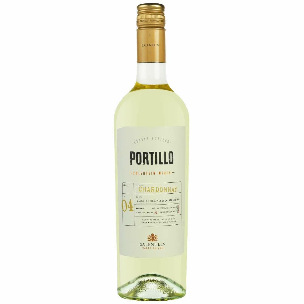 Vino Portillo chardonnay x750cc