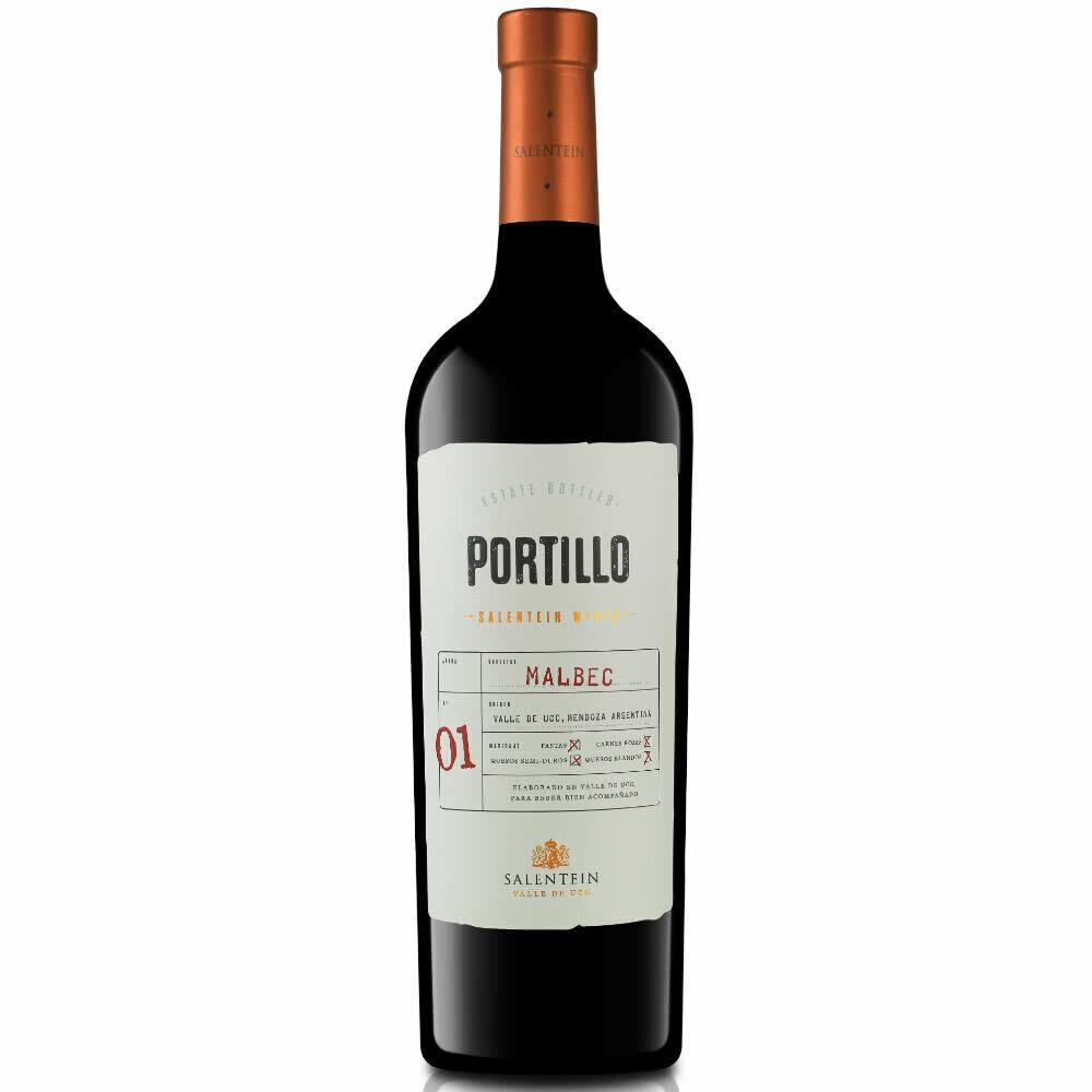 Vino Portillo malbec x750cc