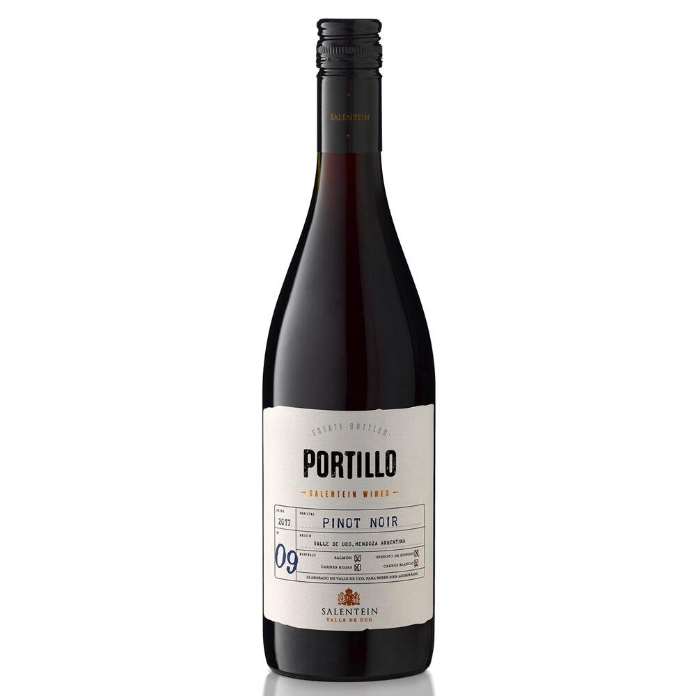 Vino Portillo pinot noir x750cc