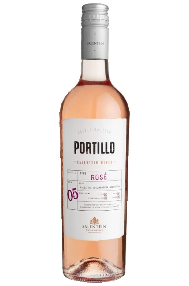 Vino Portillo rose malbec x750cc
