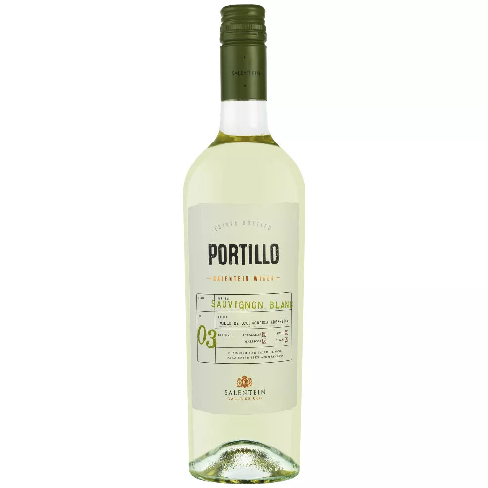 Vino Portillo sauvignon blanc x750cc