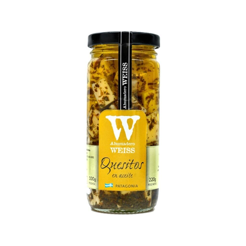 Quesitos en aceite de oliva y f. hierbas x220gr.