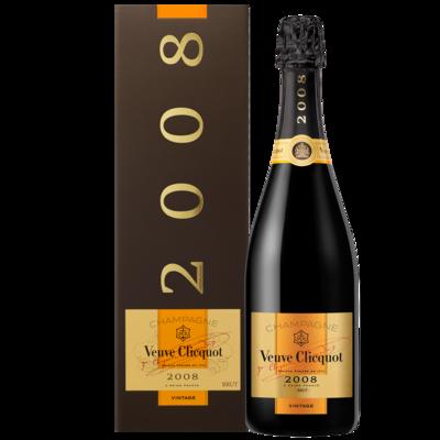 Champagne Veuve clicquot vintage brut 2008 x750cc