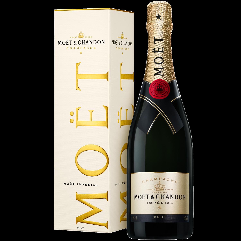 Champagne Moet brut imperial x750cc