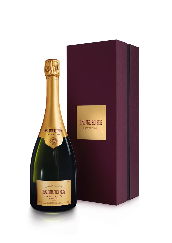 Champagne Krug gran cuvee x750cc