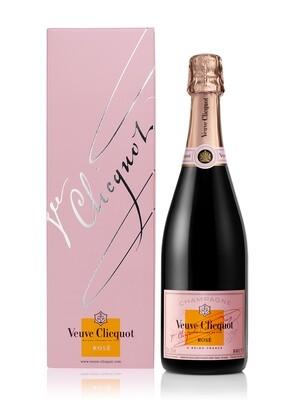 Champagne Veuve clicquot rose x750cc