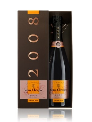 Champagne Veuve clicquot vintage rose 2008 x750cc
