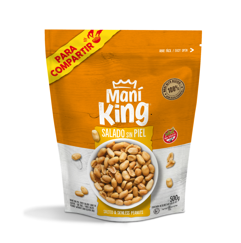 Mani king frito x500grs