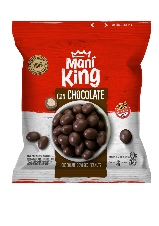 Mani king c/chocolate x80grs