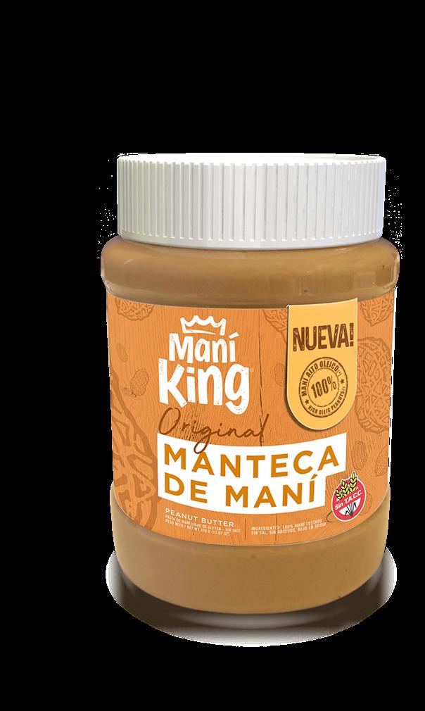 Manteca de mani king original x350grs