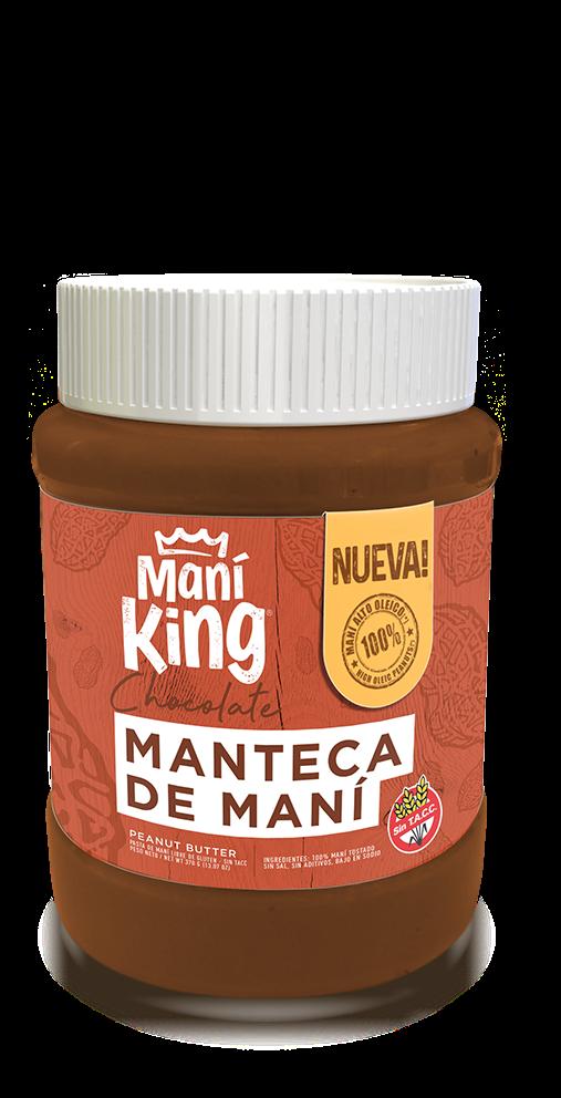 Manteca de mani king c/chocolate x350grs