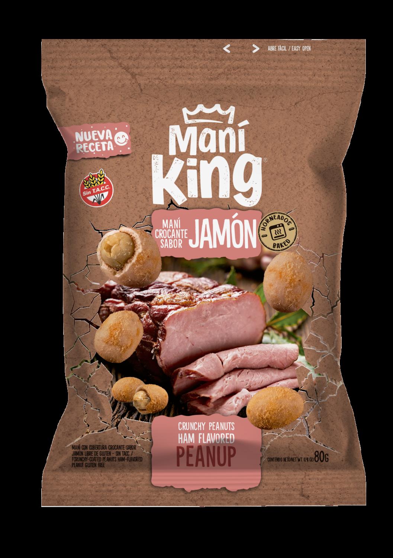 Mani king japones sabor jamon x80grs