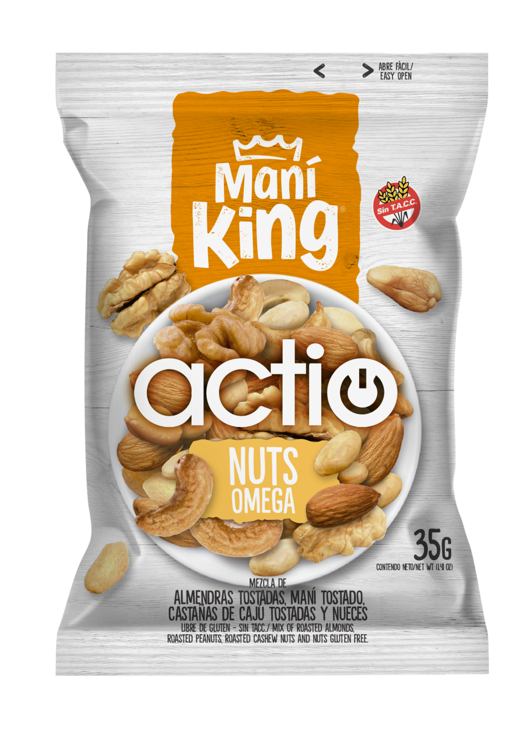 Mani king actio nuts x35grs