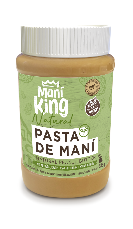 Pasta de Maní King Natural x485grs