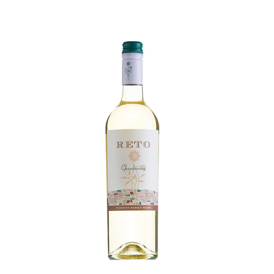 Vino Reto chardonnay  x750cc