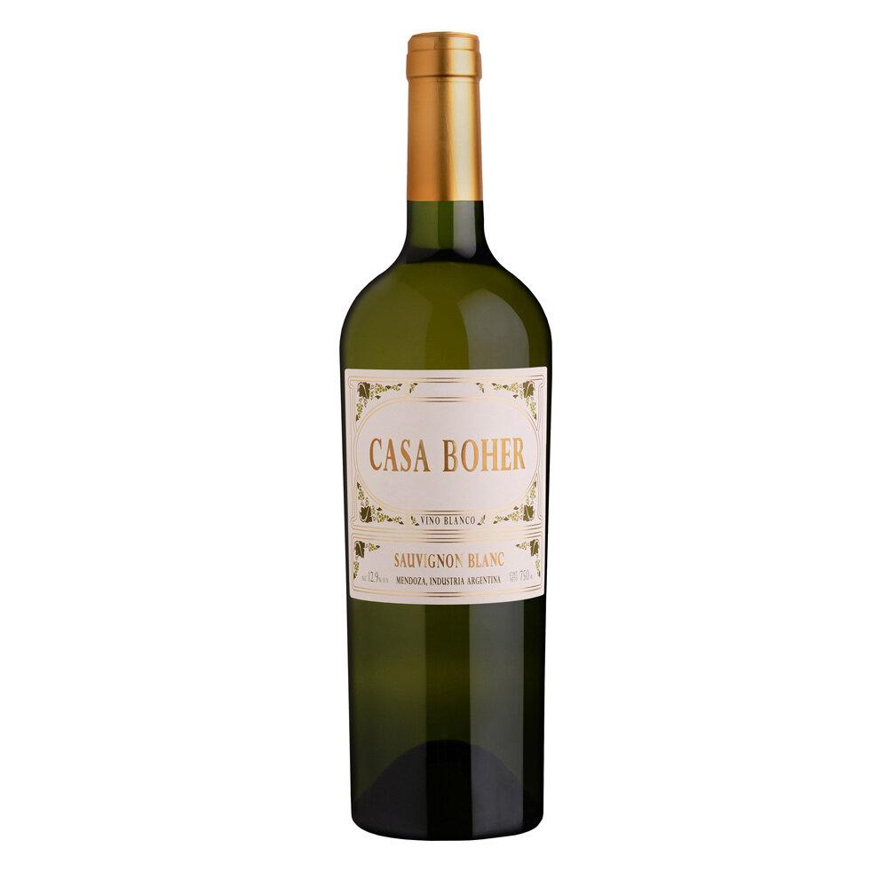 Vino Casa boher sauvignon blanc x750cc