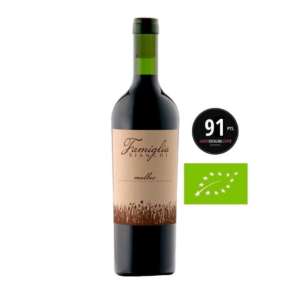 Vino Famiglia malbec organico x750cc
