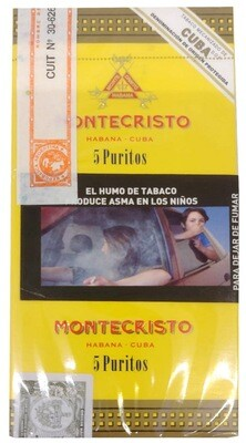Habano Montecristo puritos 5